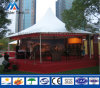 Luxury Decorated Customized Size White PVC Pagoda Tent