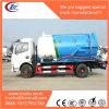 5 Cbm Sewage Vacuum Tanker Truck