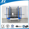 Cheap Big Colourful Trampoline with Enclosure