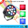Cheap Price LED Disco Light 12*1W RGBW LED Mini LED Flat PAR