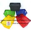 Wholesale Flexible Handheld Orange Small Plastic Supermarket Shopping Basket