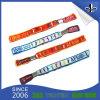 Wholesales Custom Festival Polyester Wristband with Aluminum Tube Lock