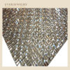 24*40 Hot Fix Rhinestone Mesh, Crystal Adhesive Rhinestones Sheet