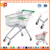 High Angle Euro Style Popular Supermarket Shopping Carts Trolley (ZHt228)