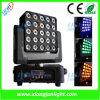 25X12W RGB-W Matrix LED Moving Head Wash Light