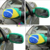 Custom Printing Tension Fabric Car Mirror Cover Sock Flag