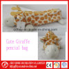 Cute Plush Giraffe Toy Pencile Bag