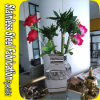 Stainless Steel Metal Mini Flower Vase for Office Decoration