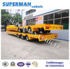 China Container Lowbed Cargo Trailer