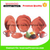 Wholesale Orange Color Glazed Dinnerware Set for Kitchen Banquet