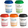 Promotional Striped Coffee Cups