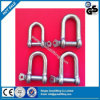 Commercial Galv European Type Large Dee Shackle