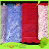 Knitted Jacquard Nylon 4 Way Stretch Spandex Lace Fabric