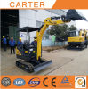 CT18-9d (1.8t&0.04m3) Half Tail Hydraulic Multifunction Crawler Mini Excavator