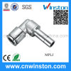 Metal Tube Pneumatic Plug in Fitting with CE