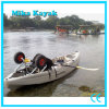 Single Sit on Top Ocean Kayak Fishing Boats Plastic Canoe