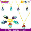 Customized Metal Evil Eye Charm Necklace Set for Women Gilrs Fashion Necklace