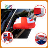 28*30cm Cheap Price Spandex Brazil Car Mirror Cover Flag