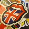 Custom Full Color Printed Die Cut Sticker Decals
