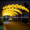 100 LEDs Christams Light LED Cross Street Decoration