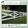Cross Rail Horse Fence for PVC Fence