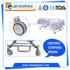 5 Functions Crank Manual Beds with Stainless Steel Central Braker