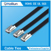 Protect Material Epoxy Covered Stainless Steel Cable Tie