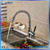 Creative Deck Mount Spring Pull out/Down Kitchen Mixer Taps
