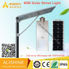 60W IP68 Waterproof Outdoor Integrated Solar LED Street Light