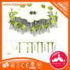 Children′s Table Furniture Plastic Combined Three Leaf Table