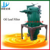 Professional Manufacture Cooking Oil Leaf Filter Machine