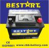 DIN Standard 12V 45ah SMF Car Battery 54519-Mf