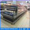 3 Shelves Multideck Semi Open Display Cooler for Grocery Store