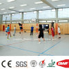 Maple Color Indoor PVC Floor Roll for Sports Basketball Court Wood Pattern 4.5mm