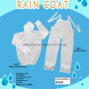 New Type White Translucent Split Rain Gear