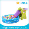 Plastic Indoor Kids Toys Slide with Inflatable Ball Pool for Sale