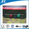 Accessory Bag Below Trampoline with Safety Net