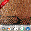 Embossed PVC Artificial Leather Snake Skin Faux Leather for Making Bags with Very Cheap Price