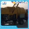 Jinsheng Best Price Mobile Concrete Mixer with Pump