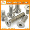 Hex Socket Countersunk Head Screws Fastener Screw