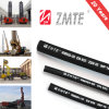 SAE 100r2at Steel Wire Braided Hydraulic Industrial Rubber Hose