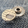 High-End Jeans Metal Rivet of Garment (HD1124-15)