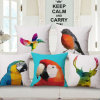 Eco-Friendly Cotton Linen Printed Cushion Cover Without Stuffing (35C0194)