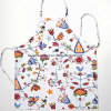 China Factory OEM Custom Logo Printed Cotton PE PVC Promotional Aprons