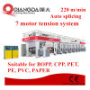 Label Film Stickers Rotogravure Printing Machine with High Speed