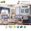 Antique Furniture Living Room Genuine Leather Sofa (HC808)