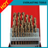High Quality Twsit Drill Set for Metal Drilling Hssco 25PCS
