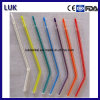 Disposable Colorful Dental Air Water Syringe Tip (clear tube, colorful core)