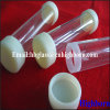 Screw Thread Fused Silica Glass Pipe for Halogen Lamp