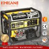 Ce Certificate Electric Starter Gasoline Generator Set with 6kw Output
